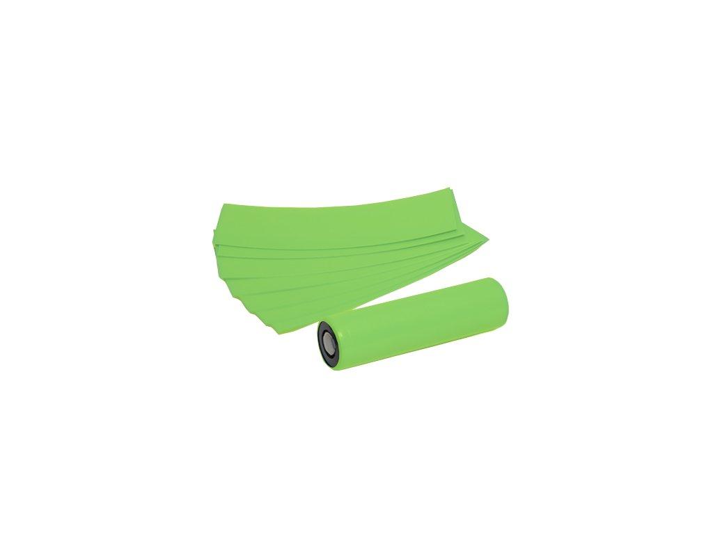 Smršťovací folie pro baterie 18650 (Světle zelená) (5ks)