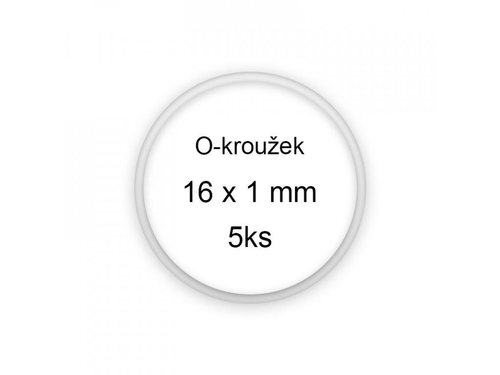Sada O-kroužků / těsnění 16x1 mm (5ks)