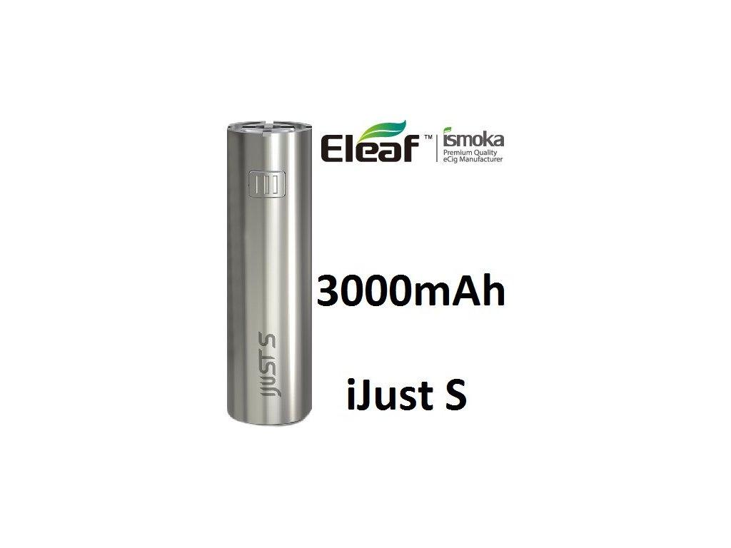 Eleaf iJust S baterie 3000mAh Silver