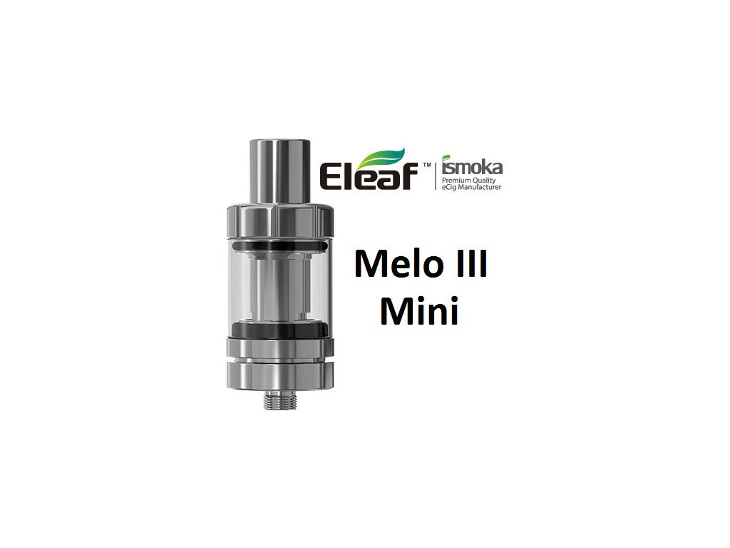 Eleaf Melo 3 Mini clearomizer Stříbrný