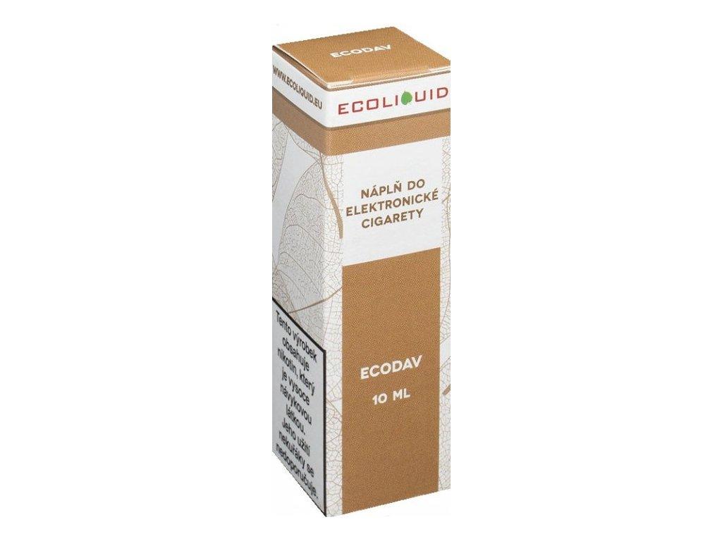 Liquid Ecoliquid ECODAV 10ml - (Tabák)