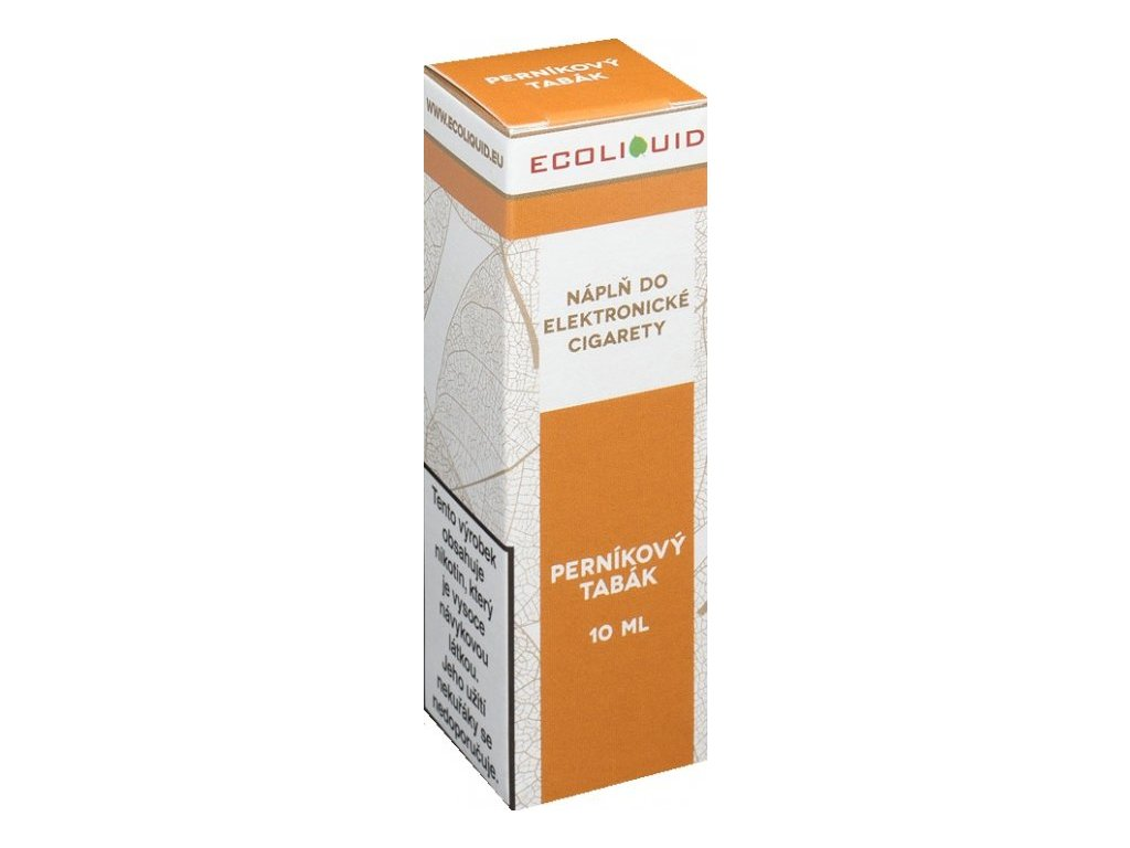 Liquid Ecoliquid Gingerbread tobacco 10ml - (Perníkový tabák)