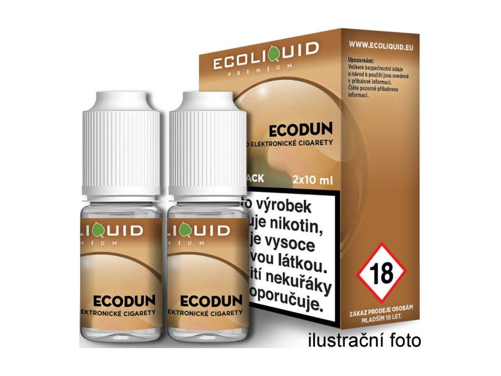 Liquid Ecoliquid Premium 2Pack ECODUN 2x10ml - (Tabák)
