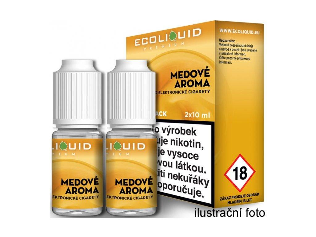 Liquid Ecoliquid Premium 2Pack Honey 2x10ml - (Med)