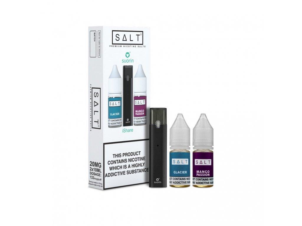 Suorin iShare SALT POD CZ elektronická cigareta 130mAh Black