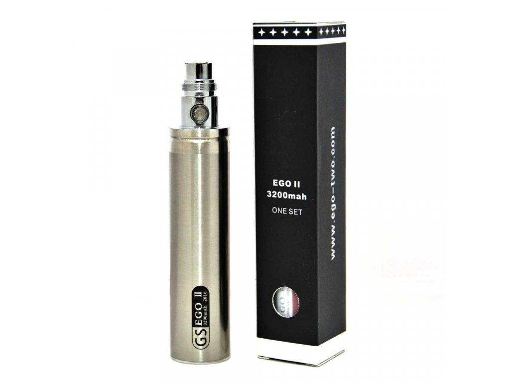 eGo baterie 3200mAh stříbrná s krabičkou