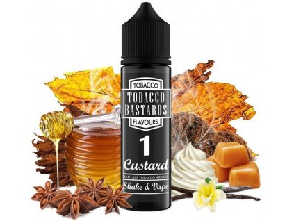 Příchuť Flavormonks Tobacco Bastards Shake and Vape 12ml No.01 Custard