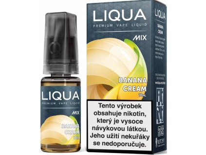 Liquid LIQUA CZ MIX Banana Cream 10ml-6mg