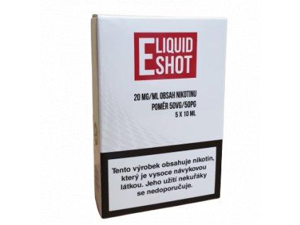 E-Liquid Shot Booster 50PG/50VG 20 mg/ml - 5x10ml