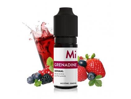 E-liquid The Fuu MiNiMAL 10ml / 20mg: Grenadine (Ovocný sirup)