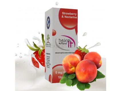 Liquid 10ml Take It - Strawberry & Nectarine 0 mg/ml