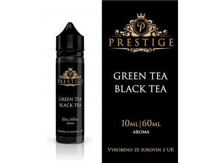 Příchuť 10ml Prestige - Green Tea Black Tea (Shake and Vape)