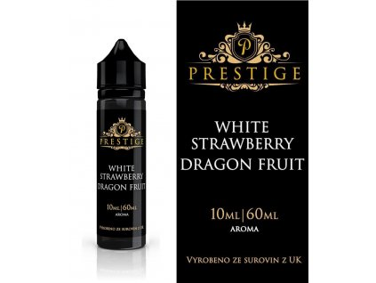 Příchuť 10ml Prestige - White Strawberry Dragon Fruit (Shake and Vape)