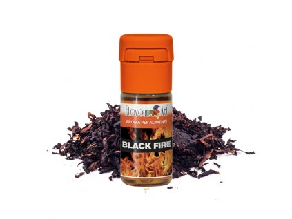 Příchuť FlavourArt: Black Fire (Tabák) 10ml