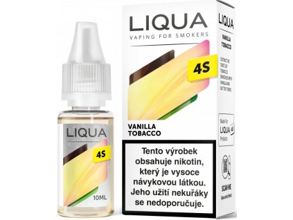Liquid LIQUA 4S Vanilla Tobacco 10ml-20mg