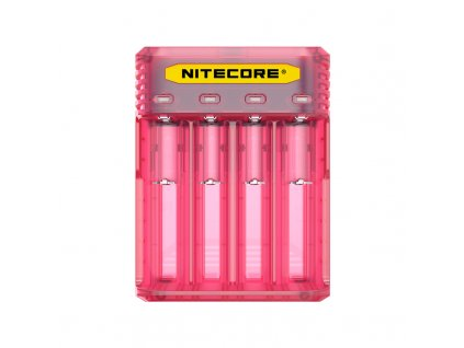Multifunkční nabíječka baterií - Nitecore Intellicharger Q4 (Pinky Peach)