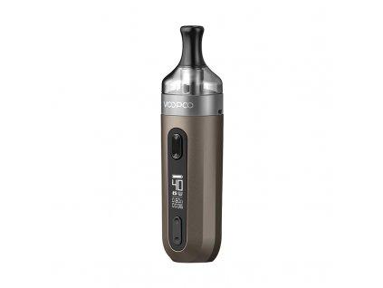 Elektronická cigareta: VooPoo V.SUIT Pod Kit (1200mAh) (Šedá)