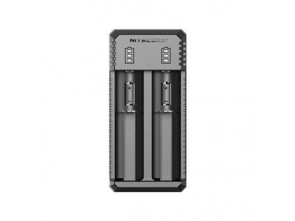Multifunkční USB nabíječka baterií - Nitecore UI2 (2 sloty)