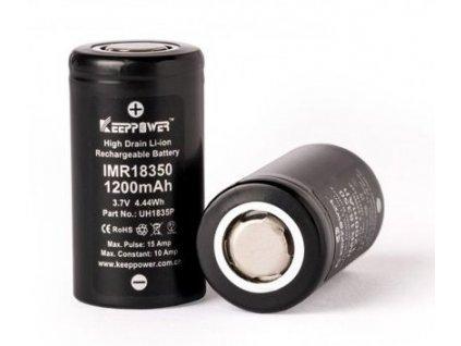 Keeppower baterie typ 18350 1200mAh 10A