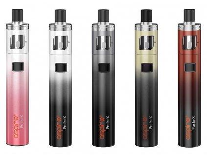 aSpire PockeX AIO elektronická cigareta 1500mAh ANNIVERSARY EDITION