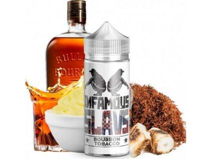 Příchuť Infamous Slavs S&V 20ml Bourbon Tobacco