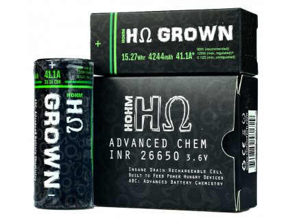 hohm grown 26650x2