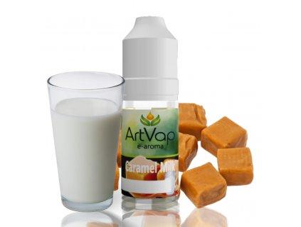 mockup Art Vap Caramel milk 1