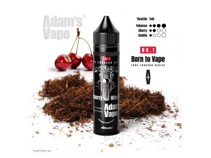 Příchuť Born to Vape S&V: Cherry Wheels (Opravdový tabák s třešní) 12ml