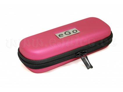 Pouzdro pro elektronickou cigaretu (logo eGo) (Tmavě růžové)