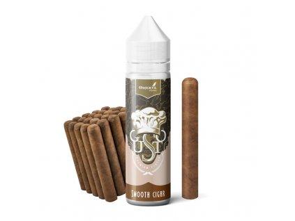 Příchuť Omerta Gusto S&V: Smooth Cigar (Jemný doutníkový tabák) 20ml