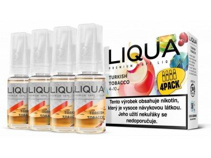 Liquid LIQUA Elements 4Pack Turkish tobacco 4x10ml (Turecký tabák)