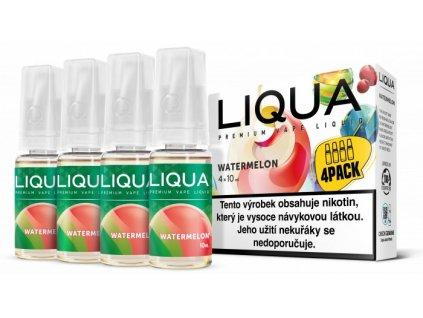 Liquid LIQUA Elements 4Pack Watermellon 4x10ml (Vodní meloun)