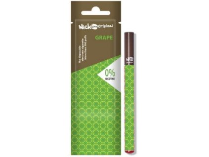 Nick One Original elektronická cigareta Grape 0mg