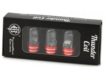 THC 3-Core Fused Clapton předmotané spirálky 10pcs
