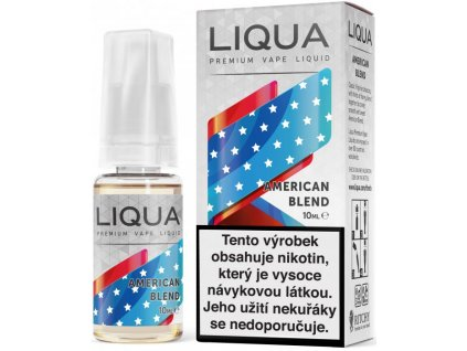 Liquid LIQUA Elements American Blend 10ml-18mg (Americký míchaný tabák)