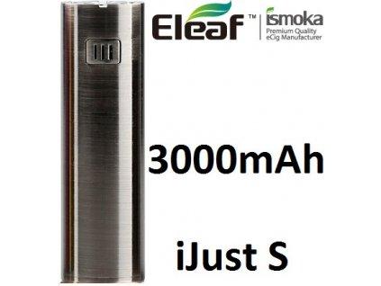 Eleaf iJust S baterie 3000mAh Brushed Černá