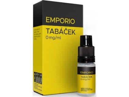 Liquid EMPORIO Tabáček 10ml - 0mg