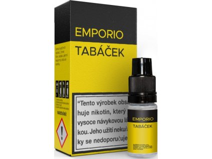 Liquid EMPORIO Tabáček 10ml - 12mg