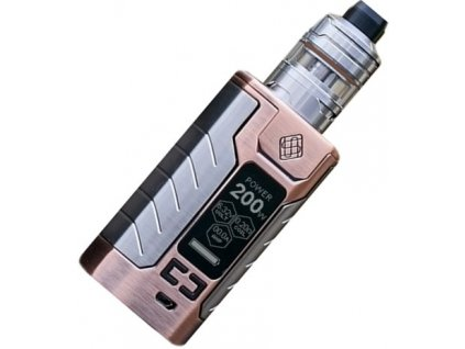 Wismec SINUOUS FJ200 grip 4600mAh Full Kit Bronzová  + Spinner zdarma