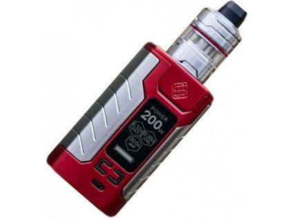 Wismec SINUOUS FJ200 grip 4600mAh Full Kit Červená  + Spinner zdarma