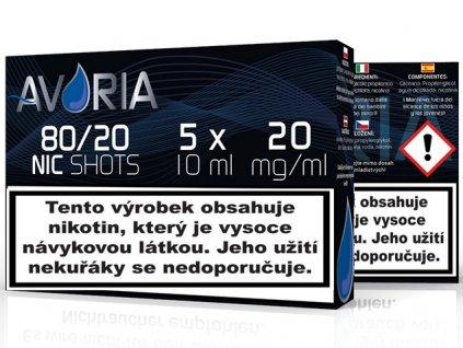 nic shot 80 20 avoria cz