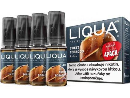 Liquid LIQUA MIX 4 Pack Sweet Tobacco 10ml-12mg