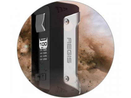 GeekVape Aegis grip 100W 4300mAh s Shield Tank Green-Camo  + Spinner zdarma
