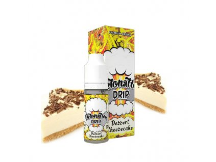 Příchuť Detonation Drip Dessert Cheesecake (Sladký cheesecake) 10ml