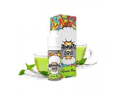 Příchuť Detonation Drip Green Tea (Osvěžující zelený čaj) 10ml