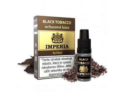 Ochucená báze Imperia (50/50) 5x10ml 3mg Black Tobacco