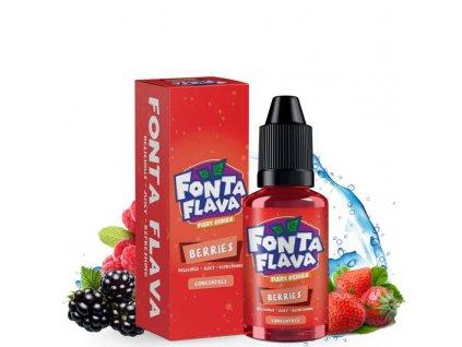 Příchuť Fonta Flava: Berries (Osvěžující červené plody) 10ml