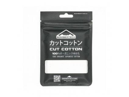 Přírodní japonská vata Bombertech Cotton 9x7cm (2ks)