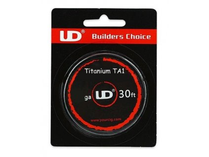 UD Ti odporový drát 26GA 0,4mm 10m