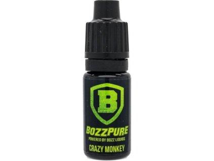Příchuť Bozz Pure 10ml Crazy Monkey (Jablka, vanilka a tajné koření)
